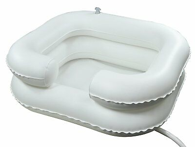 Inflatable Shampoo Basin Bathing Aid Wash Hair In Bed