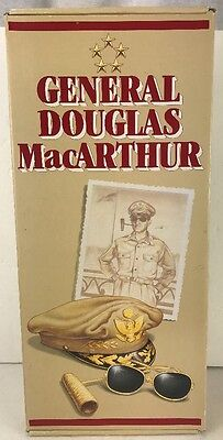 Effanbee General Douglas MacArthur Doll 1st History's Greatest Heroes Series NOS