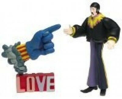 The Beatles Yellow Submarine John with Glove and Love Base. McFarlane