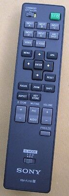 Sony Projector Remote Control RM-PJ18 - Excellent Condition! Works!