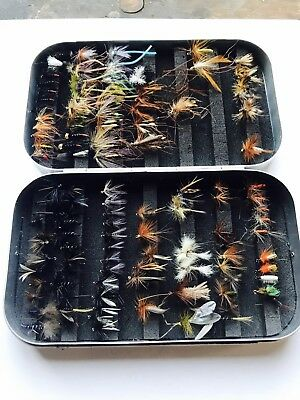 Fly Fishing Box With Flies