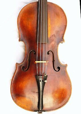 Nice Antique 4/4 Violin Labelled and Stamped Stainer Ready-to-Play