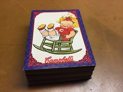 1995 Campbell Soup Collection 72 Cards.  Campbell Kids, Labels, Collect-A-Card