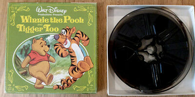 Super 8 Cine FilmWalt Disney Winnie the Pooh and Tigger Too colour sound