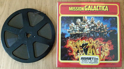 Super 8 Cine Film MISSION  BATTLESTAR GALACTICA colour sound 110m