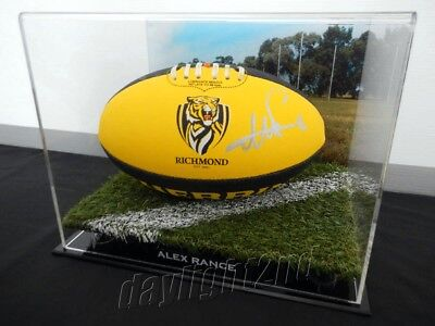 ✺Signed✺ ALEX RANCE Richmond Football PROOF COA Tigers 2017 2018 Guernsey