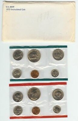 1979 COMPLETE UNITED STATES US MINT COIN SET. U.S. MINT. Free Shipping