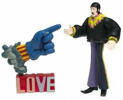 The Beatles Yellow Submarine John with Glove and Love Base. Delivery is Free