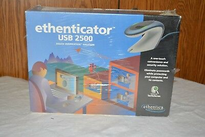 Ethernetica Etherneticator USB 2500 Touch Verification Solution New in Box