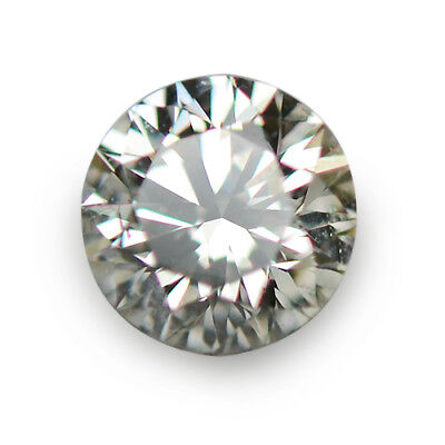 0.22 Ctw Best Round New To Auction Fire Luster Natural Diamond