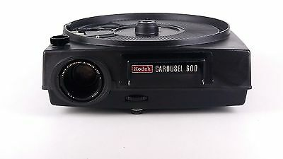 Kodak Carousel 600 Projector Includes 6 Trays Vintage