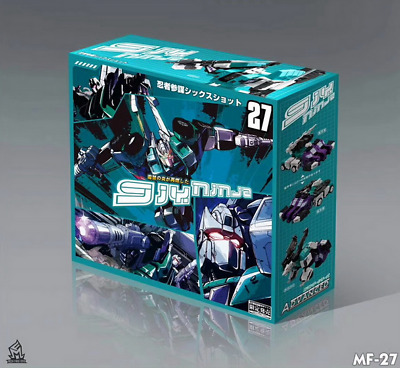 Transformers MF-27 Sixshot  DX9 STYLE OVERSIZED In stock MISB  14CM