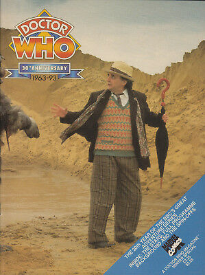 Brilliant Doctor Who Magazine 30th Anniversary edn.  Mint! Lovely item.
