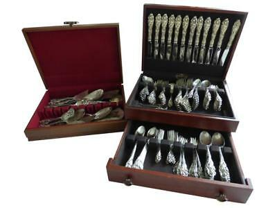 "Reed & Barton ""Love Disarmed"" Sterling Flatware Lot 151"