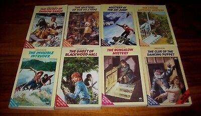 Collection of 8 Vintage Nancy Drew Books - Circa 1970's - Deceased Estate