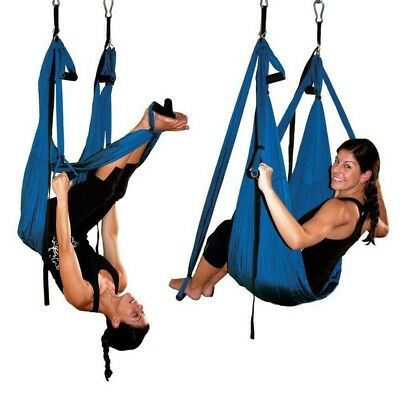 (black) - XLHGG Yoga hammock Fitness Inversion Swing Aerial Pilates A variety