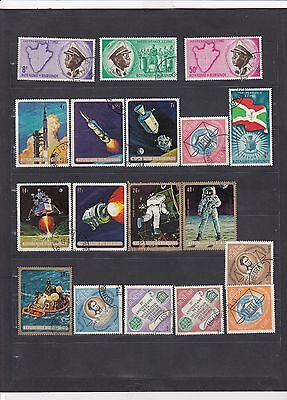 BUR422 Burundi Stamps - Mixed Condition - Good Collection