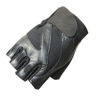 (Black, Medium) - Fitness Gloves Male Outdoor Breathable Movement Half Finger