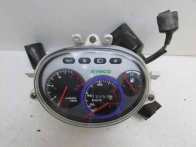 Kymco Cobra 50 1997 - 1999 Clock Speedo Assembly with Sub Wiring Loom 19053Miles