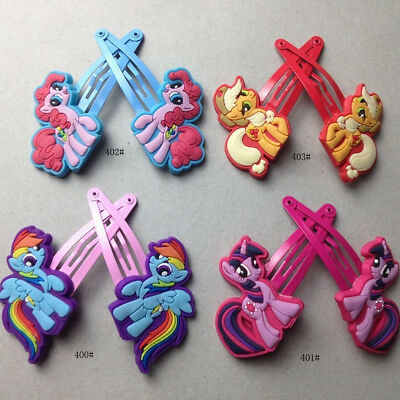 My little Pony Hair Clip Cute Baby Kids Girls Hairpins Hair Accessories Hot  AC