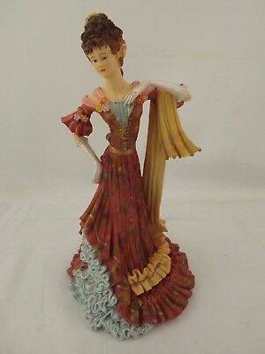 "Limited Edition Regency Fine Arts Figurine ""The Socialite"" #151/10000"