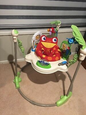 Fisher Price Rainforest Jumperoo **EXCELLENT Condition** Pick Up Glenhaven