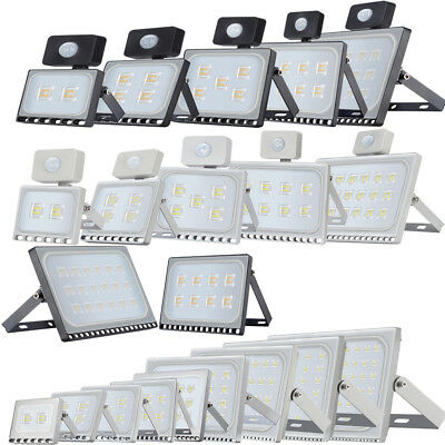 LED Floodlight 10/20/30/50/100/150/300/500W SMD Security Flood Lights Warm Cool