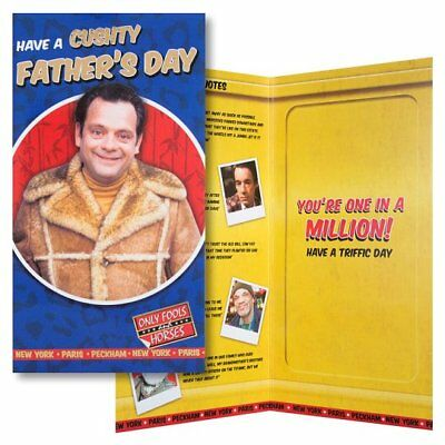 Only Fools and Horses Father's Day Card