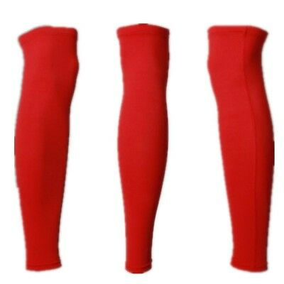 (red lycra leggings, Large) - Outdoor Sports Guard Protects The Leg To Protect