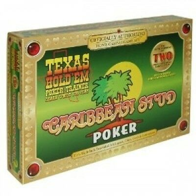 Texas Hold'em & Caribbean Stud Game. TDC Games. Shipping is Free