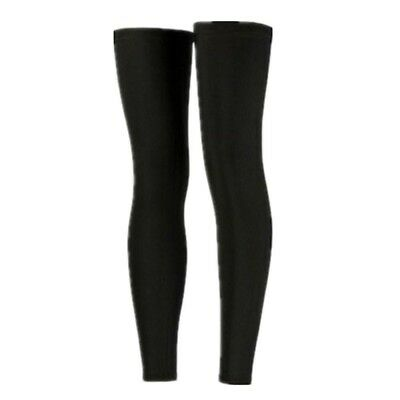 (black lycra leggings, Large) - Outdoor Sports Guard Protects The Leg To