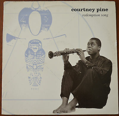 "Courtney Pine ‎– Redemption Song 12"" – Mica Paris – 12IS 562 – Ex"