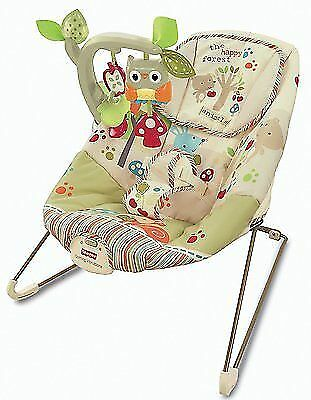Fisher-price Woodsy Friends Comfy Time Bouncer Baby Rocker