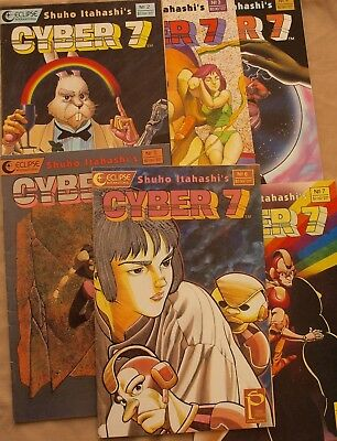 Cyber 7   #2 to #7  (combined shipping available)