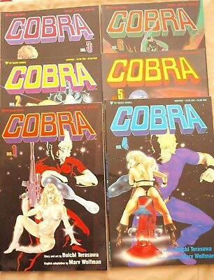 Cobra #1-6 (combined shipping available)