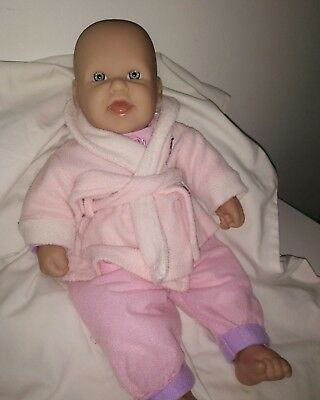 Beautiful 41cm BERENGUER Baby Doll Soft Body exc cond