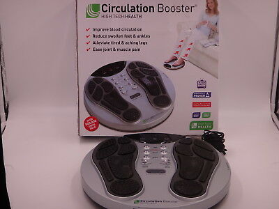 Boxed High Tech Circulation Booster Very Good Condition