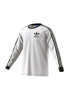 (Large, White/Blanco) - adidas Children's Clfn Long-Sleeve Top. Best Price