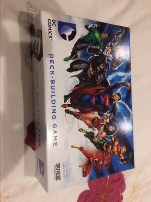 DC Deck Building / Builder Game Cryptozoic Premium Sleeved