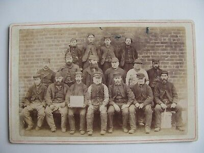 C E Arthur photographer Maryport Railway Workers/ Railway Navvies/ Road workers