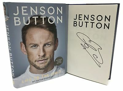 Signed Book - Life to the Limit: My Autobiography by Jenson Button