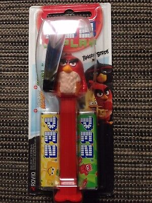 ☆ PEZ ANGRY BIRD _ RED BIRD _ Neuf sous blister ☆