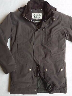 Barbour Linton Men's  Insulated Waterproof Jacket - Olive, Size S, M, L, XL, XXL
