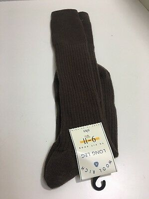 CA21 True Vintage Mens Nylon Wool Socks 1970s? BHS Socks Size 9-11 Long Made UK
