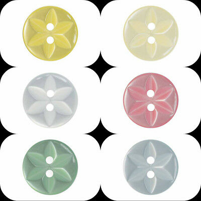 Star Buttons Ligne 18 & 22 Wholesale Packs