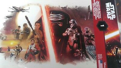 Star Wars Repositionable Wall Decal York RoomMates lot of 5