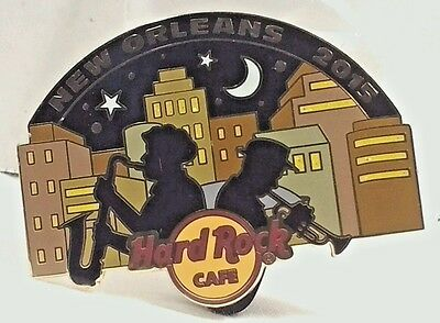 Hard Rock Cafe New Orleans 2015 Jazz Festival Souvenir Pin/Badge Collectible New