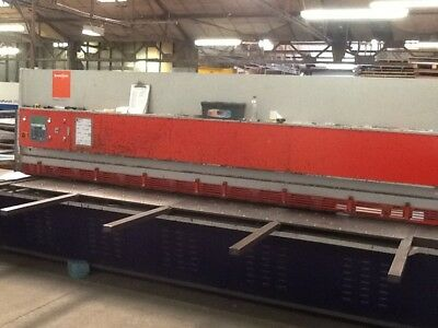 Bystronic VR6.5-40, year 2005, 4 metre  sheet metal guillotine