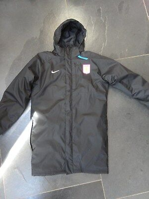Aston Villa Nike Storm Fit Coat Match Jacket  Age 13- 15 in in superb condition