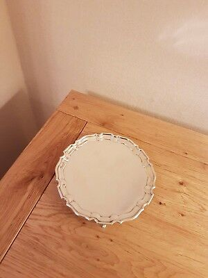 Sterling silver tray/salver